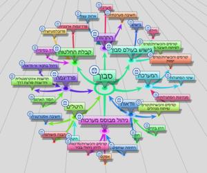 מבנה ידע רשתי בויקי ארגוני